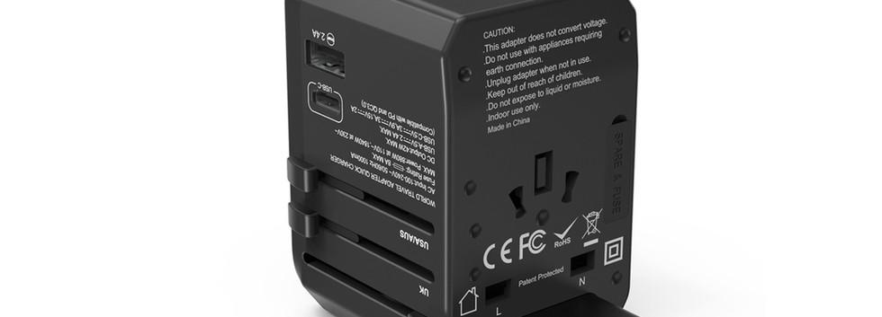 SmartGo Travel Adapter PD308