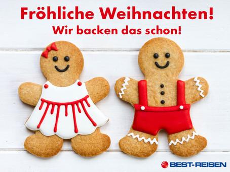 Wir wünschen eine Frohe Weihnacht!