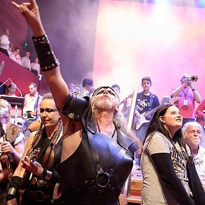 Those Who Rock Gig at Melbourne's Hamer Hall