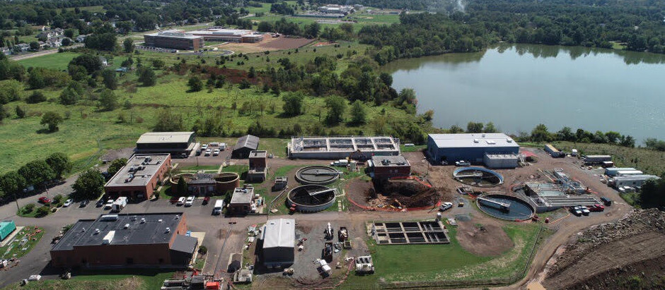 New Arial Photos of Plant Upgrade
