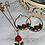 """Thumbnail: Gold Filled """"Beauty"""" Hoop & necklace set"""