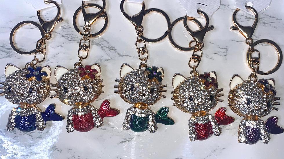 MerKitty Bling purse charm/keychain