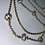 Thumbnail: Multi-layer Bling Goldtone Necklace
