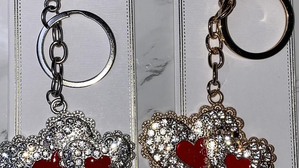 LoveLace Metal Keychains
