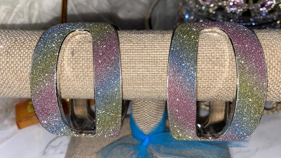 Pastel Rainbow Cuff Bracelet