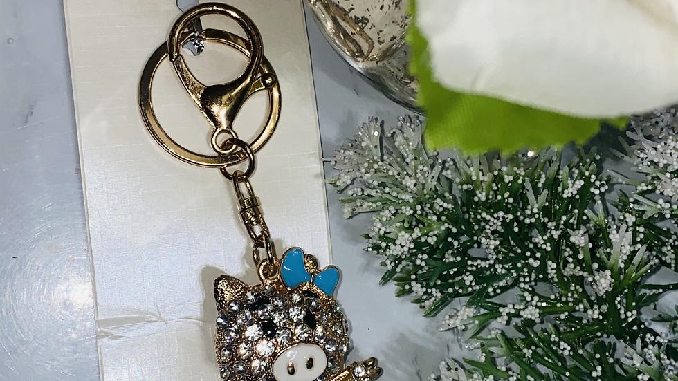 Ms. Piglet Alloy metal 3D Keychain/ purse charm