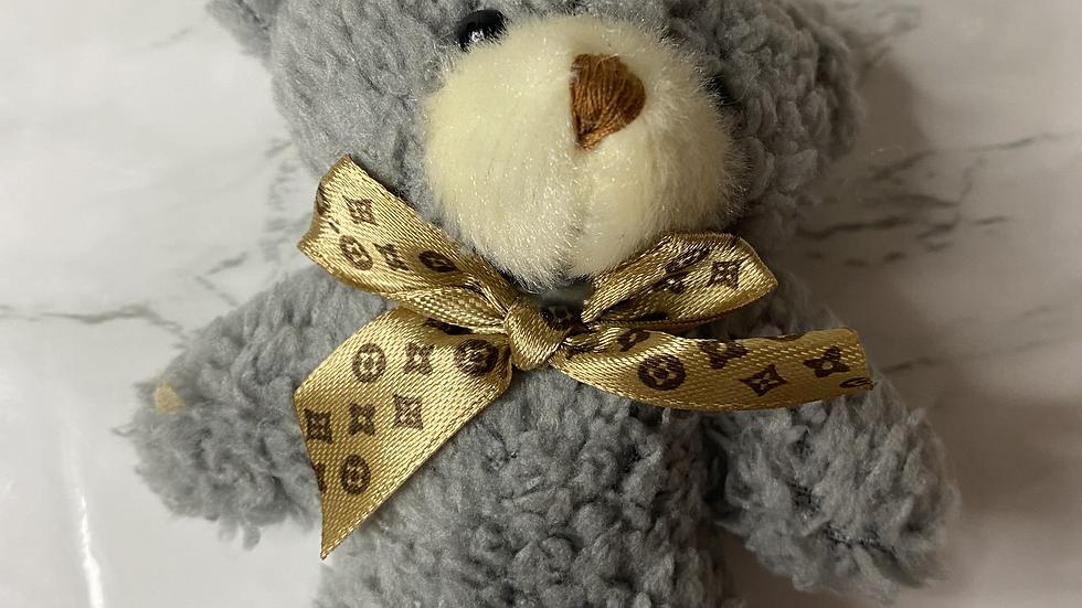 Plush Teddy Keychain