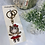 Thumbnail: Ms. Piglet Alloy metal 3D Keychain/ purse charm