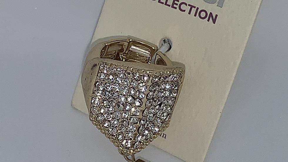 Adjustable Bling Fringe ring