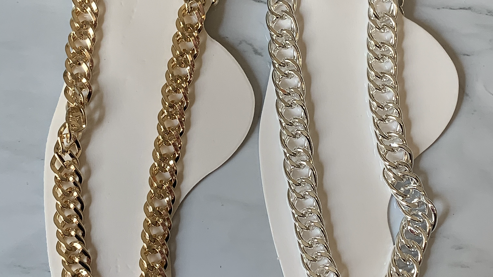 Chain Anklet Goldtone or silvertone