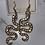 Thumbnail: Slithering hook earrings