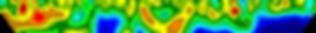 Imagem de isolinhas de uma sodagem por eletrorresistividade