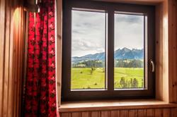 Widok z okna na Tatry