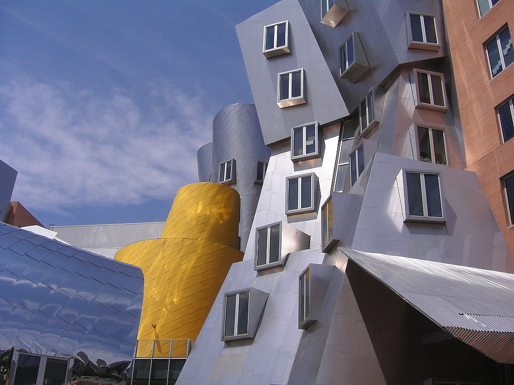 The Ray and Maria Stata Center at the Massachusetts Institute of Technology