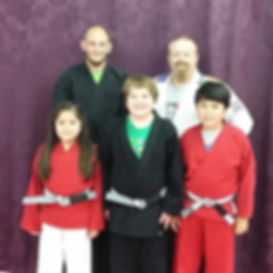 Recent belt promotions for Children's Jiu Jitsu