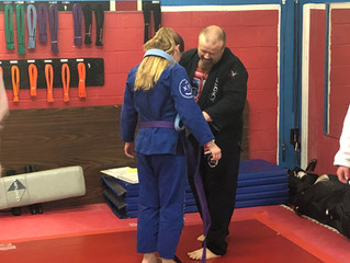 Congratulations to Recent Jiu-Jitsu Belt Promotion Recipients!