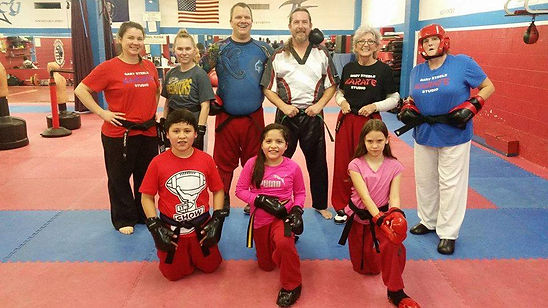 Adult Karate in strong showing at sparring class