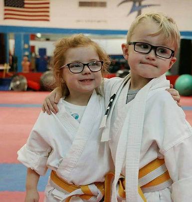 Little Dragon friends at Gary Steele Karate Studio
