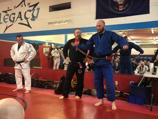 Mr. Shawn Green Awarded Black Belt in Jiu-Jitsu