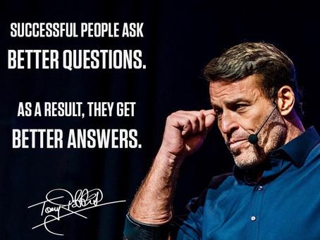삶을 바꾼 코칭 질문(2) - 토니 로빈스와 관점전환 질문