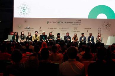 NYADO at Global Social Business Summit 2018 - Germany