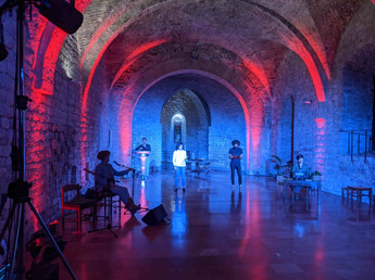 Live performance at The Economy of Francesco, Italy 2020