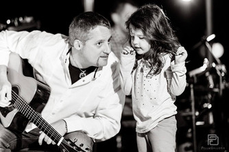Dave and his daughter.