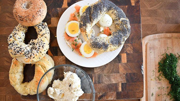Obwarzanek Sandwich - breakfast in bed
