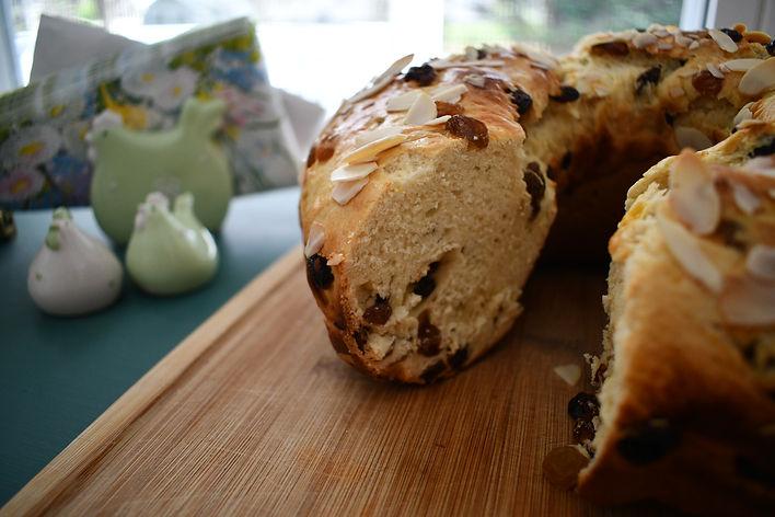 Polish Yeast Easter Breakfast Cake- Babka Drożdżowa