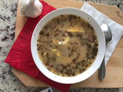 Żurek - Polish speciality with homemade sour rye soup starter- NOT only of Easter