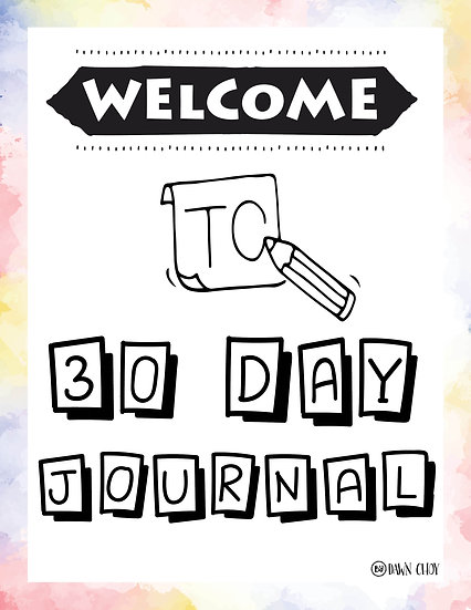 30 Day Journal