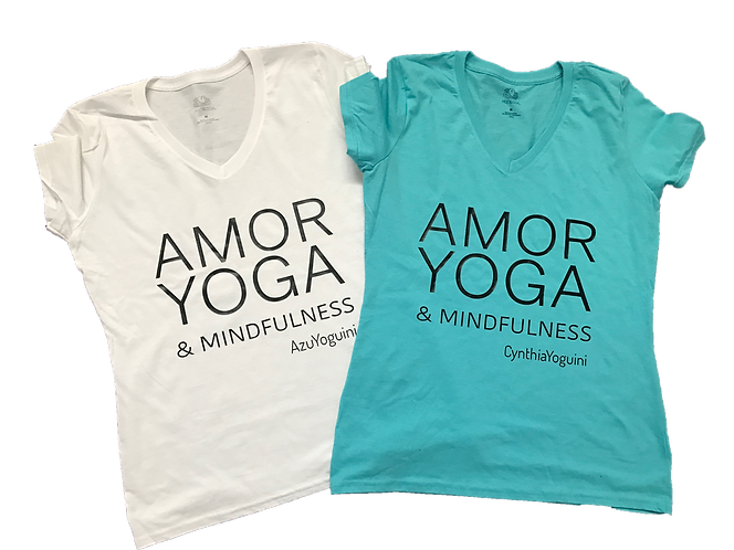 Playera Amor Yoga & Midfulness