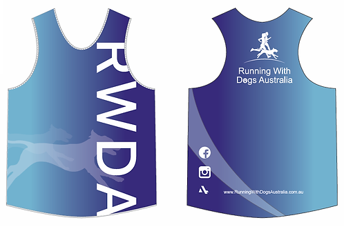 RWDA Racer Back Singlet Womens & Mens