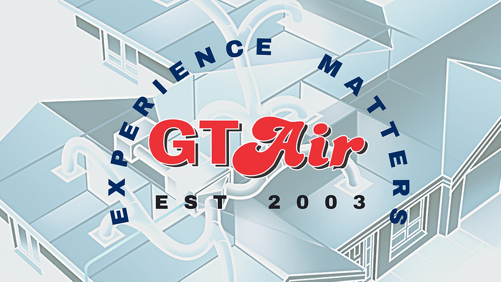 GT Air Logo with experience matters around it.  Also includes established 2003