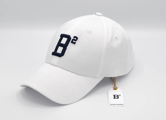 B² Basecap I Weiss