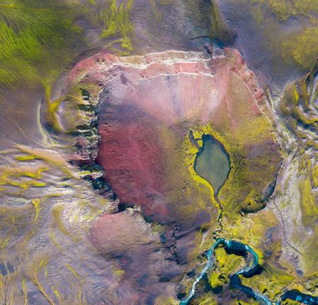 Abstract Volcanoe, 2020.
