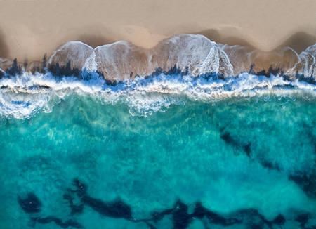 Abstract Beach, 2018.