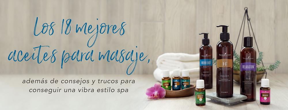 los mejores aceites aceites esenciales para masaje