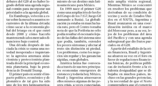 Hacia una agenda latinoamericana para el G20