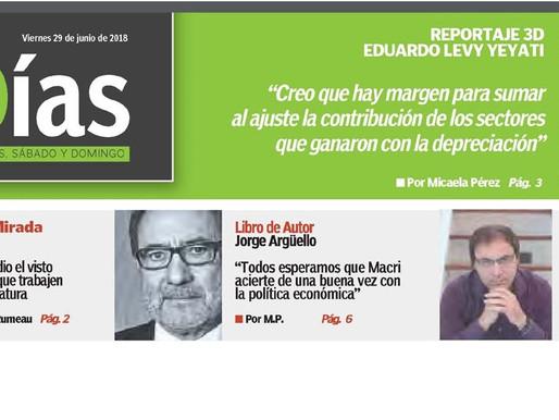 Reseña. Libro de autor: Jorge Arguello. Diario El Cronista