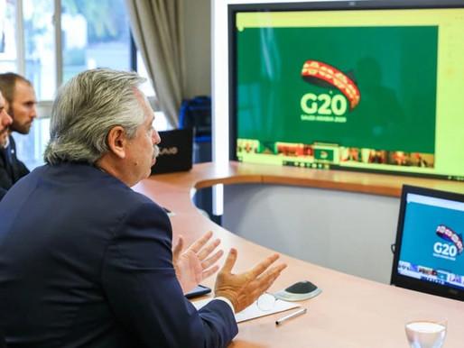 Alberto Fernández propone un Pacto de Solidaridad Global ante la pandemia