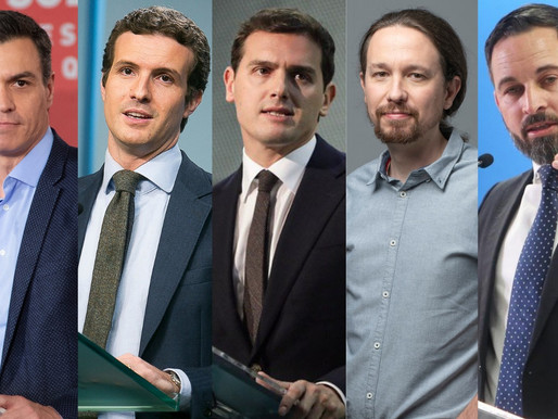 ELECCIONES EN ESPAÑA NOVIEMBRE 2019