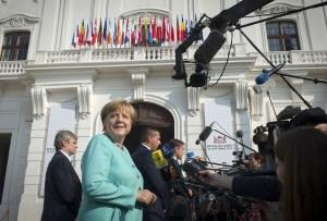 La canciller, ante el reto de la refundación de la Unión Europea
