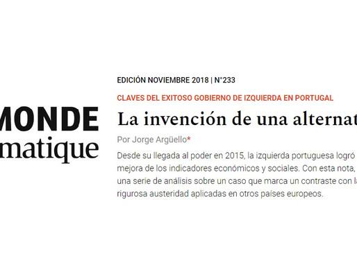 """Nuestros artículos: """"La invención de una alternativa"""", por Jorge Argüello"""