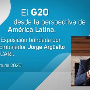"""""""El G20 desde la perspectiva de América Latina"""", por Jorge Argüello en el CARI"""