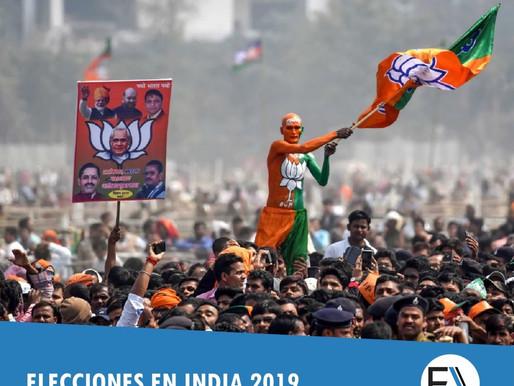 LAS ELECCIONES EN INDIA