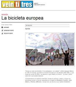 La bicicleta europea