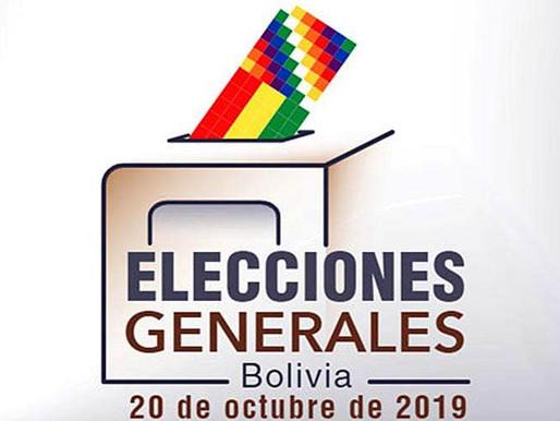 LAS ELECCIONES EN BOLIVIA 2019