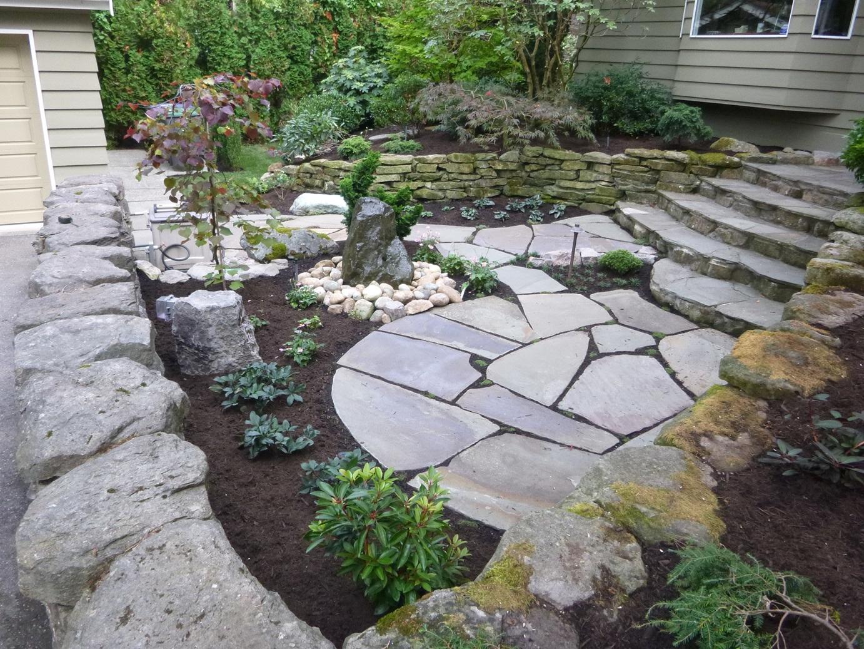 Natural Stone Courtyard