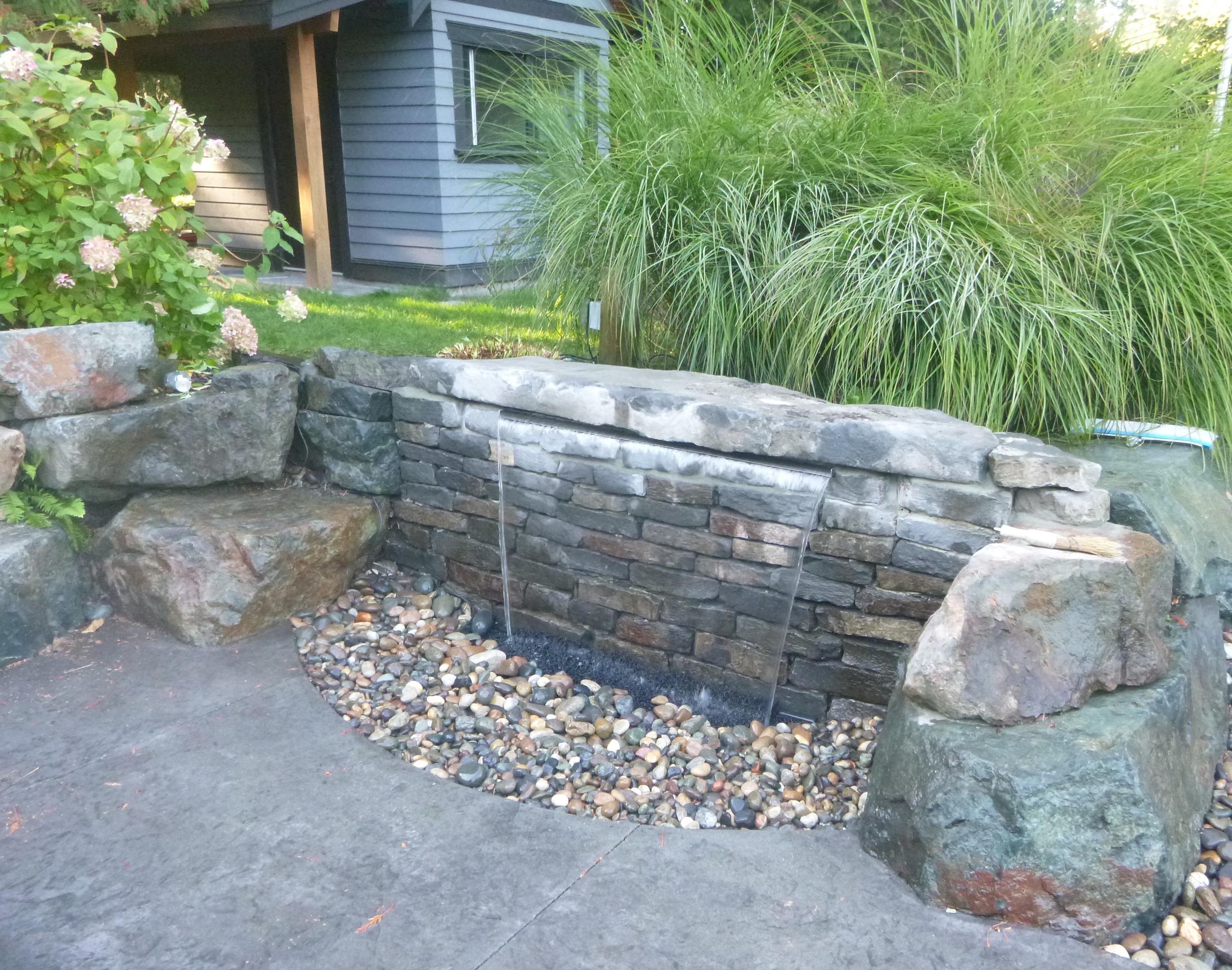 Waterfall Repair and Enhancement
